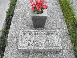 Bertha Irena <i>Zimmerman</i> Anderson