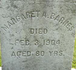 Margaret A <i>O'Sullivan</i> Barnes