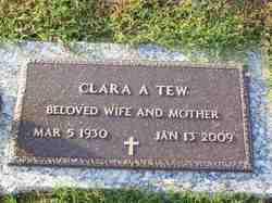 Clara <i>Adams</i> Tew
