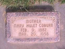 Mary <i>Hulet</i> Coburn