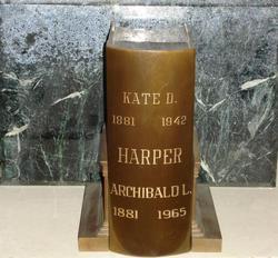 Kate B. <i>Dickey</i> Harper