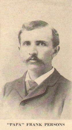Frank Stanford Persons, Sr