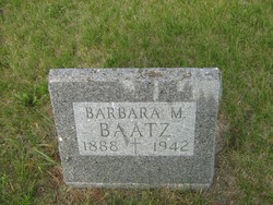 Barbara M Baatz