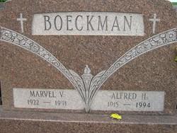 Alfred H Boeckmann