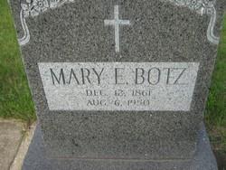 Mary E Botz