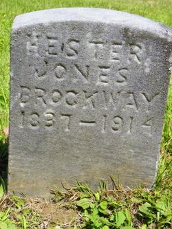 Hester A <i>Reynolds Jones</i> Brockway