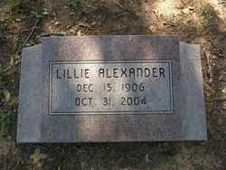 Lillie Alexander