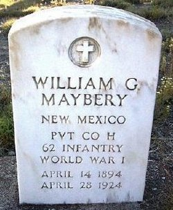 William Grover L Mayberry