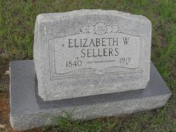 Elizabeth W. <i>Babb</i> Sellers