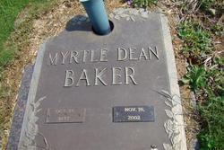 Myrtle <i>Dean</i> Baker