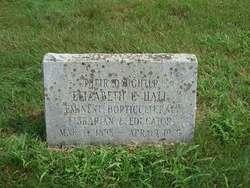 Elizabeth Cornelia Hall