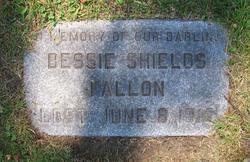 Bessie E. <i>Shields</i> Fallon