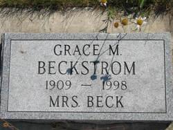 Grace M. <i>McPeeters</i> Beckstrom