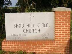 Sand Hill CME Church Cemetery