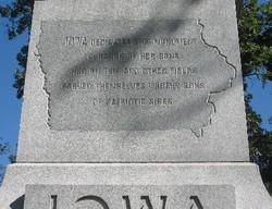 Iowa Monument (Sherman Reservation)