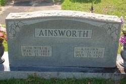 Ida <i>Welch</i> Ainsworth