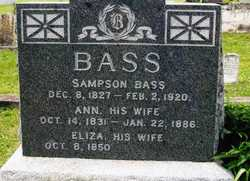 Sampson P Bass