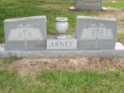 Lillie M <i>Nowell</i> Abney