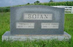 Thomas G Boian