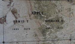 Rosalind <i>Bry</i> Apple