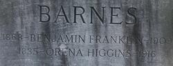 Benjamin Franklin Barnes