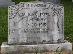 Ada <i>King</i> Powers