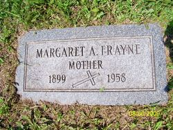 Margaret A, <i>Maher</i> Frayne