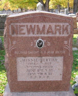 Minnie Bertha Newmark
