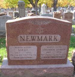 Sarah <i>Nathan</i> Newmark