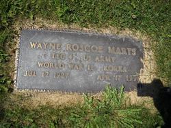 Wayne Roscoe Marts