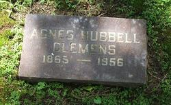Agnes <i>Hubbell</i> Clemens