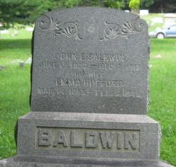 Emma <i>Hufford</i> Baldwin