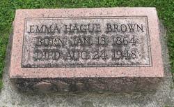 Emma <i>Hague</i> Brown