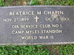 Beatrice Marie <i>Straw</i> Chapin