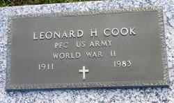 Leonard H Cook