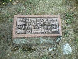 Mary J. <i>Yeider</i> Blanchard