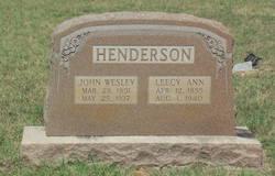 John Wesley Henderson