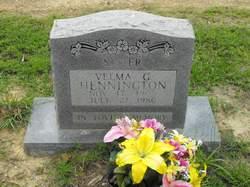 Velma G Hennington