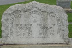 Caroline <i>Love</i> Anderson