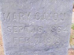 Mary <i>Reed</i> Cayou