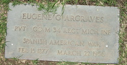 Pvt Eugene George Argraves