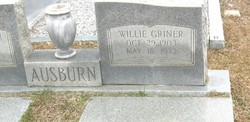 Willie <i>Griner</i> Ausburn