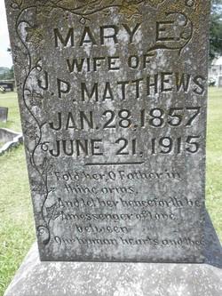 Mary Elizabeth <i>Griffin</i> Matthews