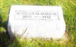 Matilda M Boston