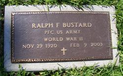 PFC Ralph Farrington Bustard