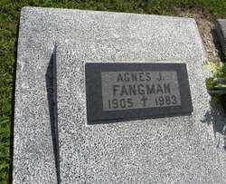 Agnes J <i>Krogman</i> Fangman