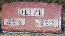 Gladys F <i>Shill</i> Deppe