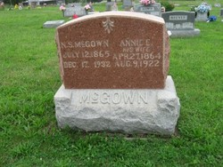 Annie Eliza <i>Jones</i> McGown