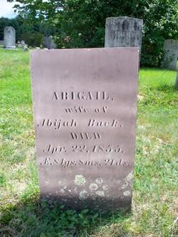 Abigail <i>Tucker</i> Buck