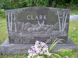 Matilda <i>Copper</i> Clark